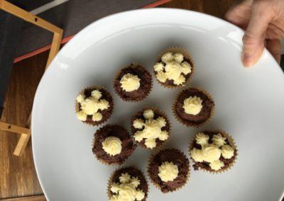 ricotta chocolate cakes