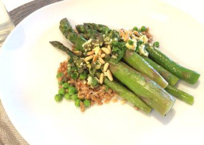 asparagus with caper salsa
