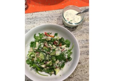 cucumber yogurt raita